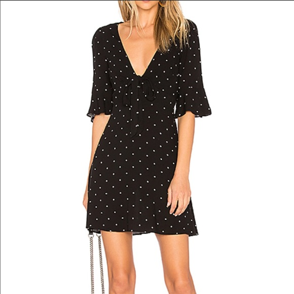 0adbff842846 NWT Free People All Yours Polka Dot Dress